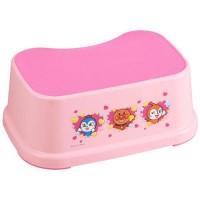 日本製 麵包超人小孩腳登 粉紅色