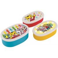 日本製巧虎3盒容器套
