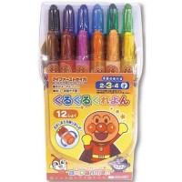 麵包超人粗蠟筆12color