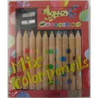 日本製 mix color Pencils  10set