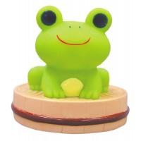 発光温泉青蛙公仔