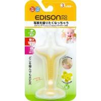Edison 連透明盒香蕉型BB牙膠