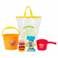 麵包超人洗澡玩具透明袋套