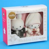 Miffy 和装結婚公仔