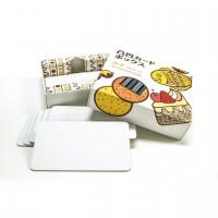 日本制 學習玩具 凸凹高低不平卡片箱畫圖