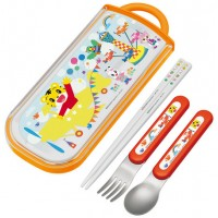 日本製 巧虎 spoon and folk set