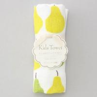 日本製 比一般10cm長的毛巾:洋梨