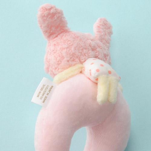 Anano Cafe rabbit Baby 手環搖鈴 粉紅色 [日本製]