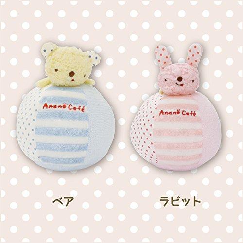 Anano Cafe 熊熊不倒翁球 藍色 [日本製]
