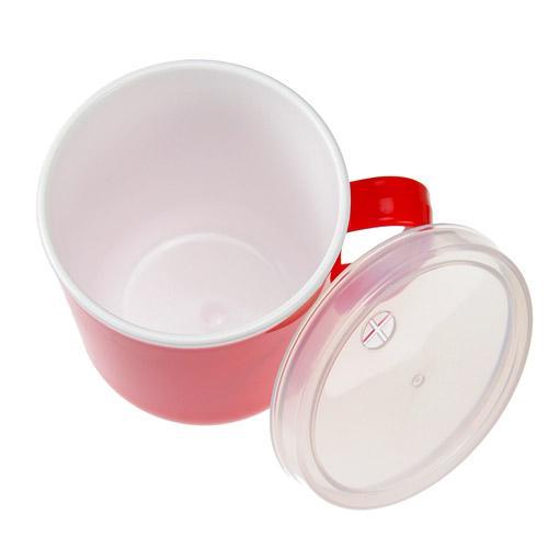 日本製 連蓋膠杯子