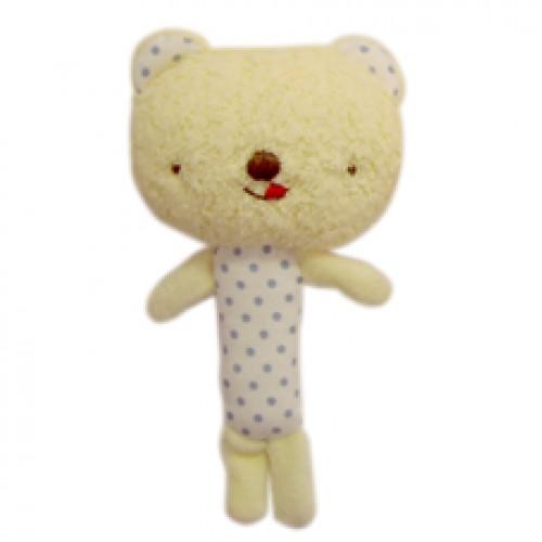 Anano Cafe Bear Baby 搖搖鈴 藍色 [日本製]